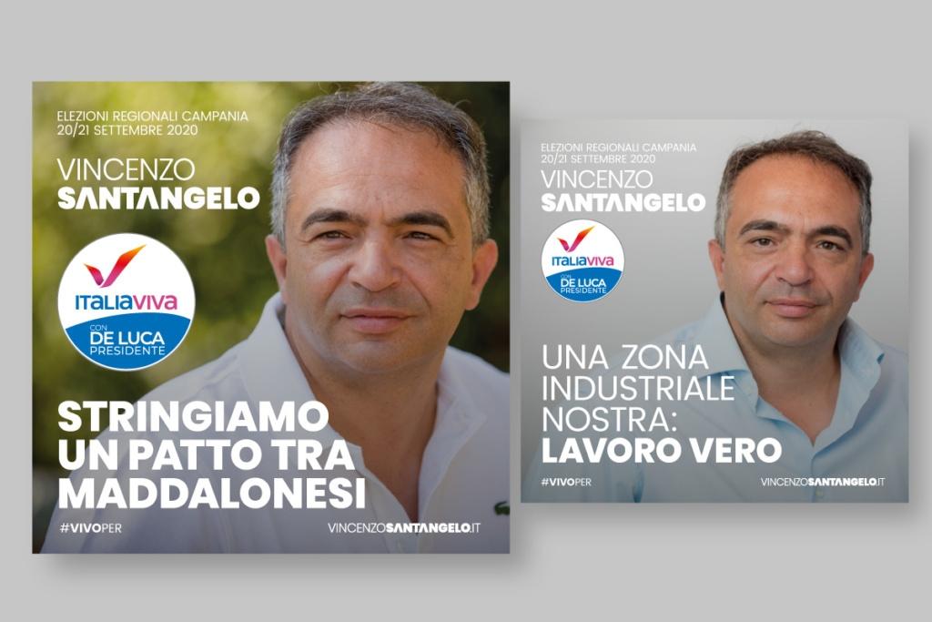 Campagna Elettorale Vincenzo Santangelo